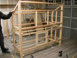 Double Decker Rabbit Hutch Building