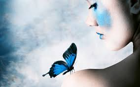 butterfly on my shoulder wallpapers and images wallpapers
