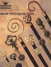 Wrought Iron Curtain Rings Curtains Up Drapery Hardware Rods Finials Rings Brackets