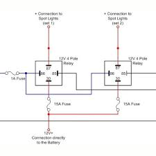 wiring diagrams for spotlights on a relay love wiring diagram ideas