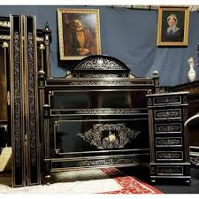 chambre napoleon 3 chambre boulle avec lit et chevet époque napoléon 3 napoleon iii