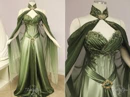 elvish style wedding dresses elven bridal gown by firefly path on deviantart