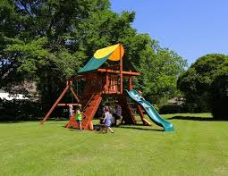 Playground Ideas For Backyard Wooden Swing Sets Outdoor Playsets Redwood Playsets Backyard