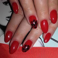 beautiful red nail art designs design trends premium psd