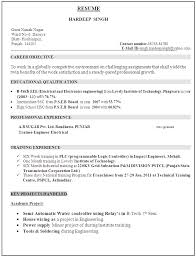 Resume Examples Electrical Engineer Resume Samples Electrical Sample Resume Electrical Engineering Student Sample Resume Electrical Engineer