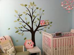 Removable Wall Decals For Nursery by Wall Decals Owls On A Tree Baby Nursery Decals By Moderndecals