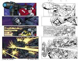 comic book coloring