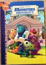 monsters university disney u0027s wonderful reading