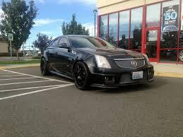 matte black cadillac cts v cts m510 wheels 3