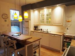 interesting narrow kitchen cart design