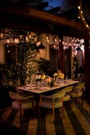 Outdoor Cafe Lighting by A Lavish Garden Wedding At A Private Residence In Miami Fl The