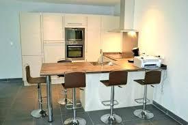hauteur table cuisine plan de travail table bar hauteur table bar cuisine 110cm tabouret