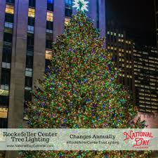 Rockefeller Tree Rockefeller Center Tree Lighting Changes Annually National Day