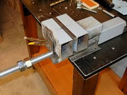 Home Made Bench Press How To Make A Steel Bench Vise
