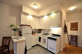 Modern White Kitchen Cabinets Round by Kitchen Attractive Small Apartment Kitchen Design With Corner