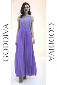 goddiva dresses embroidered chiffon maxi dress lilac goddiva co uk