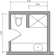 floor plans for small bathrooms best 25 small bathroom floor plans ideas on small