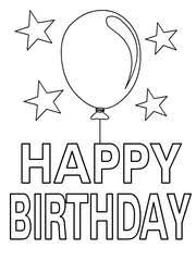 happy birthday coloring card free printable birthday coloring cards cards create and print