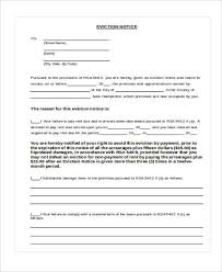 33 sample notice forms
