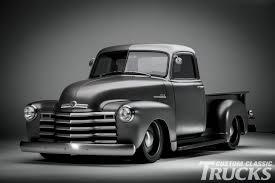 Vintage Ford Truck Art - 1950 chevy pickup icon thriftmaster custom classic trucks
