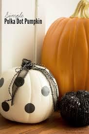 pumpkin black and white pumpkin simple polka dot pumpkins classy clutter