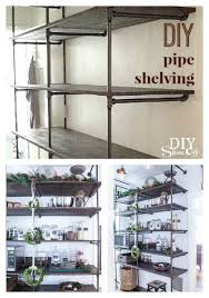 tips for a diy industrial pipe shelving unit page 2 of 2