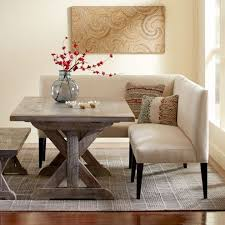 settee for dining room table eco linen sectional settee dining banquette banquettes settees
