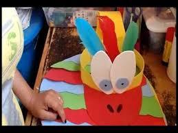 hola como puedo hacer unas alas de pato para nia de 4 disfraz alas y cabeza de ave pajarito parte 2 youtube