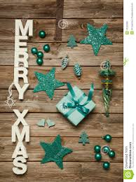 merry xmas greetings of wooden letters christmas decoration in