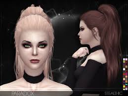 sims 4 hair cc stealthic sims 4 updates best ts4 cc downloads