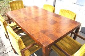 Burl Wood Dining Table Dining Table