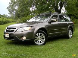 green subaru outback 2008 subaru outback 3 0r l l bean edition wagon in deep bronze