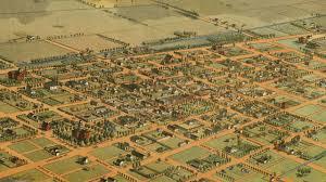 Phx Map Phoenix Arizona History And Cartograph 1885 Youtube
