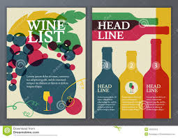 wine brochure template wine brochure template best and professional templates