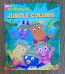 free backyardigans jungle colors board book children u0027s