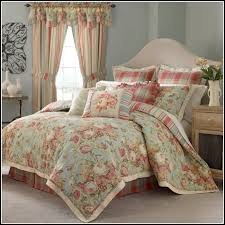 Comforter Sets Queen With Matching Curtains Waverly Bedding Sets Waverly Paisley Verveine Reversible Queen