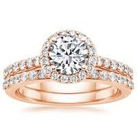 Rose Gold Wedding Ring Sets by Round Diamond Engagement Rings The Handy Guide Before You Buy