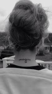 my lennon lyrics imagine tattoos
