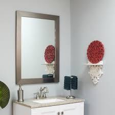 Beveled Bathroom Mirror by Framed Beveled Mirror Wayfair