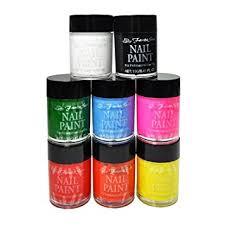 amazon com fantasea cosmetics 10 pcs acrylic nail art paint set