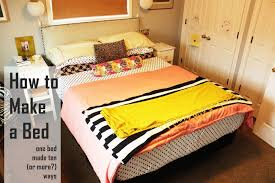 how do you make a bed how to make a bed different ideas with everyday bedding