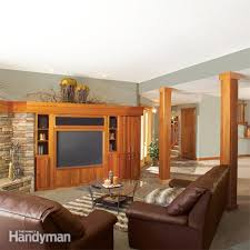 Ideas For Unfinished Basement Basement Ideas For Finishing And Waterproofing The Family Handyman
