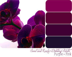 color palette for wedding colors of purple monstermathclub