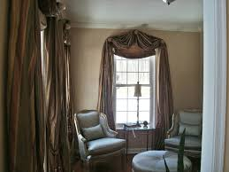 Ceiling Treatment Ideas by High Ceiling Lounge Bay Window Living Room With Tall Traditional