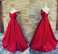 2017 simple dark red prom dresses v neck off the shoulder ruched