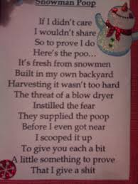 snowman poem with hat google search cute poem maybe put with