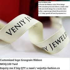 printed ribbon 100 yard customized logo printed grosgrain ribbon paw printed