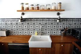 carrelage ancien cuisine carreau de ciment mural cuisine image cuisine moderne en bois et