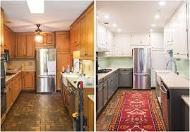 kitchen makeover with cabinets diy kitchen makeover painting two toned cabinets a new