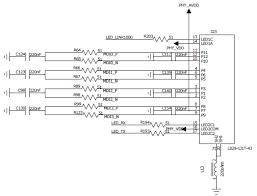 ethernet rj45 connector schematic